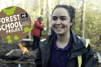 Forest Schools Teacher Rebecca