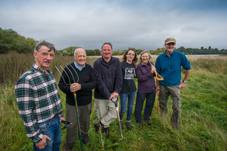 Volunteers at Skylarks, Nottinghamshire