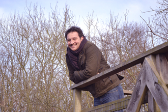 Ben on a nature reserve