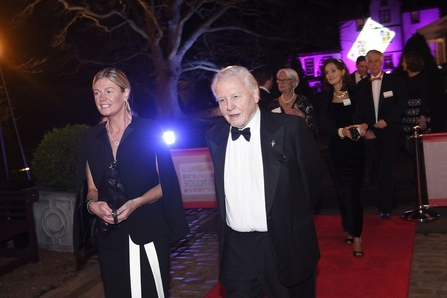 Lorna Menzies and David Attenborough PPL Charity Gala