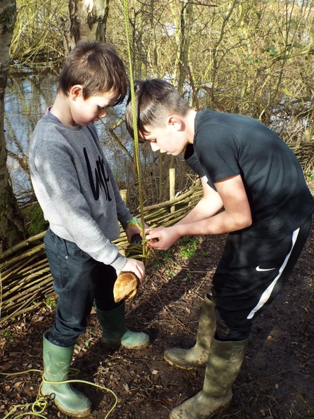 Notts WT Forest School Session 2