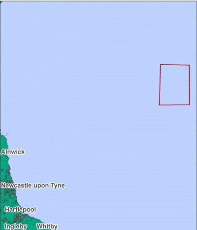 Map location of Fulmar MCZ