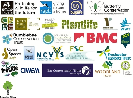 Nature and wellbeing Act partner logos
