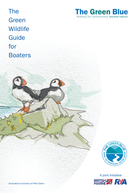 The Green Wildlife Guide for Boaters cover