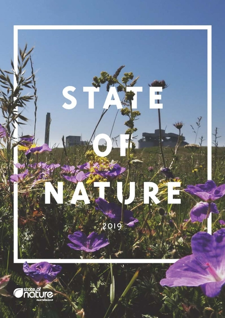 State of Nature 2019 Report Front Cover