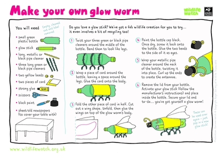 Make your own glow worm